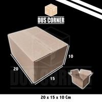 Kardus packing Box uk 20x15x10 Cm