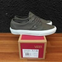 Sepatu Vans Authentic Mono Grey White Premium BNIB Quality