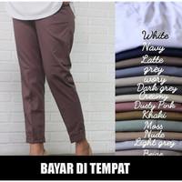Celana baggy pants wanita elegan