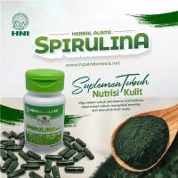 HNI HPAI Spirulina Superfood Isi 60 Kapsul ORIGINAL(bisa untuk masker