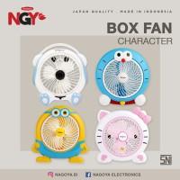 Kipas Angin Karakter Listrik NAGOYA Portable Desk Fan 10in NG-180BCD