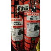Paket Ban Luar Maxxis Volans Uk 70 / 90 -17 dan 80 / 90 -17 TUBLESS