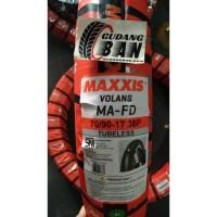 Maxxis Volans 70 / 90 - 17 ban luar motor bebek pengganti diamond ikan