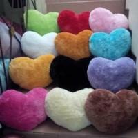 Bantal Sofa Love / Bantak Cinta Love / Bantal Love Bulu Rasfur