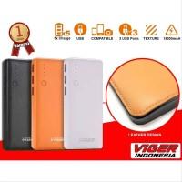 Power Bank VIGER V18 18000mAh 3 USB Port Wallet Fashion