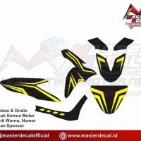 Decal Stiker Motor Yamaha Freego simple Grade S