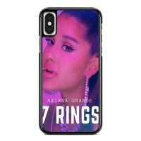Casing iPhone XS Max ariana grande 7 rings X8584
