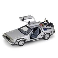 Welly 1:24 DMC -12 delorean Back to The Future II Diecast Model Car