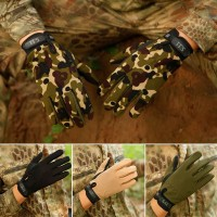 Niceday Men Military Tactical Gloves Motorcycle Riding Hunting Full