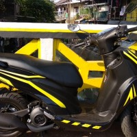 Decal Stiker Motor Yamaha Freego simple Grade A