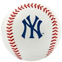 Original NY New York Yankees MLB Bola Baseball Ball - Official Size