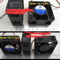 size tebal fan dc 24v 6 cm cooling fan 24 v kipas extra 6cm brushless