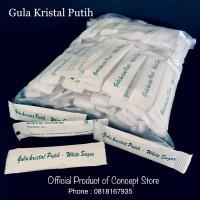 Gula Pasir Putih (White Sugar) Kemasan Stick 125pcs TERMURAH