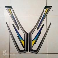 stiker Striping motor yamaha Rx King 2001 Hijau
