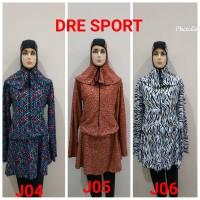Baju renang muslim dewasa JUMBO (4L - 7L)