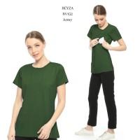 Justmom Nursingwear Baju hamil dan menyusui BEYZA series BV152 ARMY