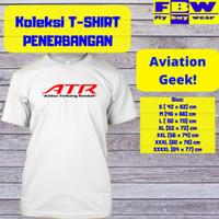AIRBUS TERBANG RENDAH ATR Baju Kaos T-Shirt Penerbangan Pesawat Aviasi