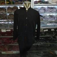 Baju Seragam Sunda Pangsi Kampret Hitam Size Jumbo 4L 5L