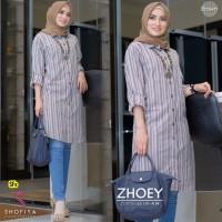 Baju Atasan Wanita Blouse Muslim Zhoey Tunik Shofiya