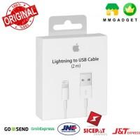 Apple Lightning Cable 2M Kabel Data 100% Original for iPhone iPad iPod