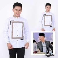 baju koko gus azmi new / koko hadroh azzahir / fashion muslim pria am - Susuai Foto, S