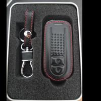 Key Cover Sarung Kunci Kulit Toyota Agya 2020