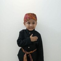 Ternama Beskap Anak Baju Adat Abang Betawi Kostum Karnaval - Size S