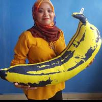 Boneka/bantal pisang jumbo full printing