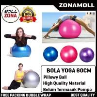 Bola Yoga 65cm / Gym Ball Balon Fitness Gym Olahraga Senam Ibu Hamill