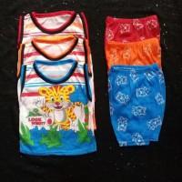 Terpopuler Baju Setelan Singlet Anak Laki-Laki Size 6 Bulan - 6-12