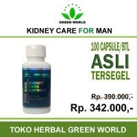 Green World Kidney Care Capsule For Man - Obat herbal untuk penyakit
