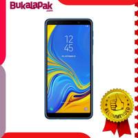 Dijual Samsung galaxy a7 2018 blue 64 GB Berkualitas
