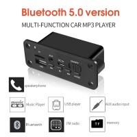 Modul Decoder Wireless MP3 WMA Bluetooth Audio Aux USB TF FM Mobil