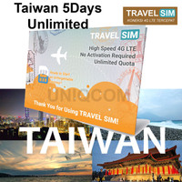 Travelling Internet Sim Card Travel Sim Taiwan 5d