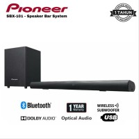 Pioneer Soundbar SBX 101 SBX101 with wireless subwoofer and USB input
