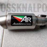 Unik Knalpot AR Austin Racing Slip On R 25 - MT 25 - Ninja 250 Gp