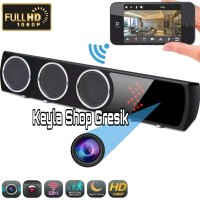 Gresik ip cam spy camera cctv wifi model speaker bluetooth T- Terlaris