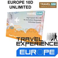 Travelling Internet Sim Card Travel Sim Europe 10d