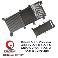 battery baterai ASUS VivoBook MX555 X555LN V555LB 4000 C21N1408 F5
