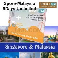 Travelling Internet Sim Card Travel Sim Singapura-malaysia 5d
