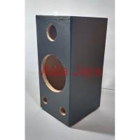 Box Speaker 6 Inch Panjang Hitam PVC
