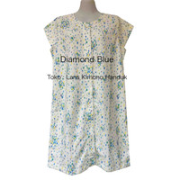 Baju Tidur Dress Handuk Daster Baju Hamil - Diamond Blue
