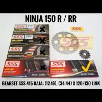 GEARSET/GIRSET/GIR SET SSS 415 KAWASAKI NINJA R/NINJA RR SSS GOLD HSB