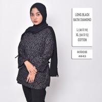Batik Songket Cewek Modern / Blouse Batik Wanita Diamond Premium