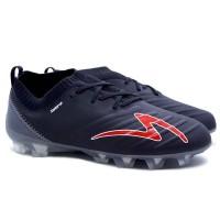 Sepatu Bola Specs Swervo Galactica Elite FG - Black/Dk Grey