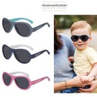 Babiators Two Tone Aviator Kacamata Hitam Sunglasses Bayi Anak Balita
