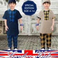 Setelan koko / baju muslim anak cowok 2-7 TH