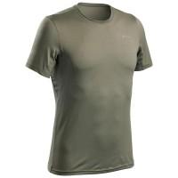 Kaos pria Mountain T-shirt kaos gunung pria t-shirt hiking green