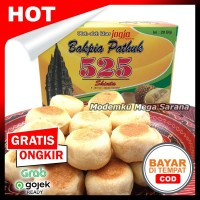 [20 biji] Bakpia Pathok 525 Asli Jogja - Kering - Rasa Durian
