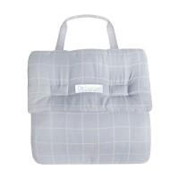 Dr.Bebe Foldable Bumper Bed Basic - Square Grey